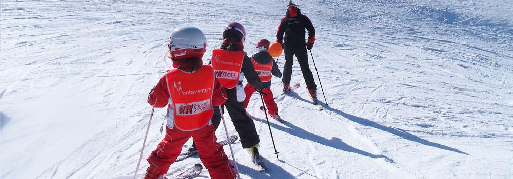 Inicio temporada Valdesqui 2014 Cursos de ski Motaventura