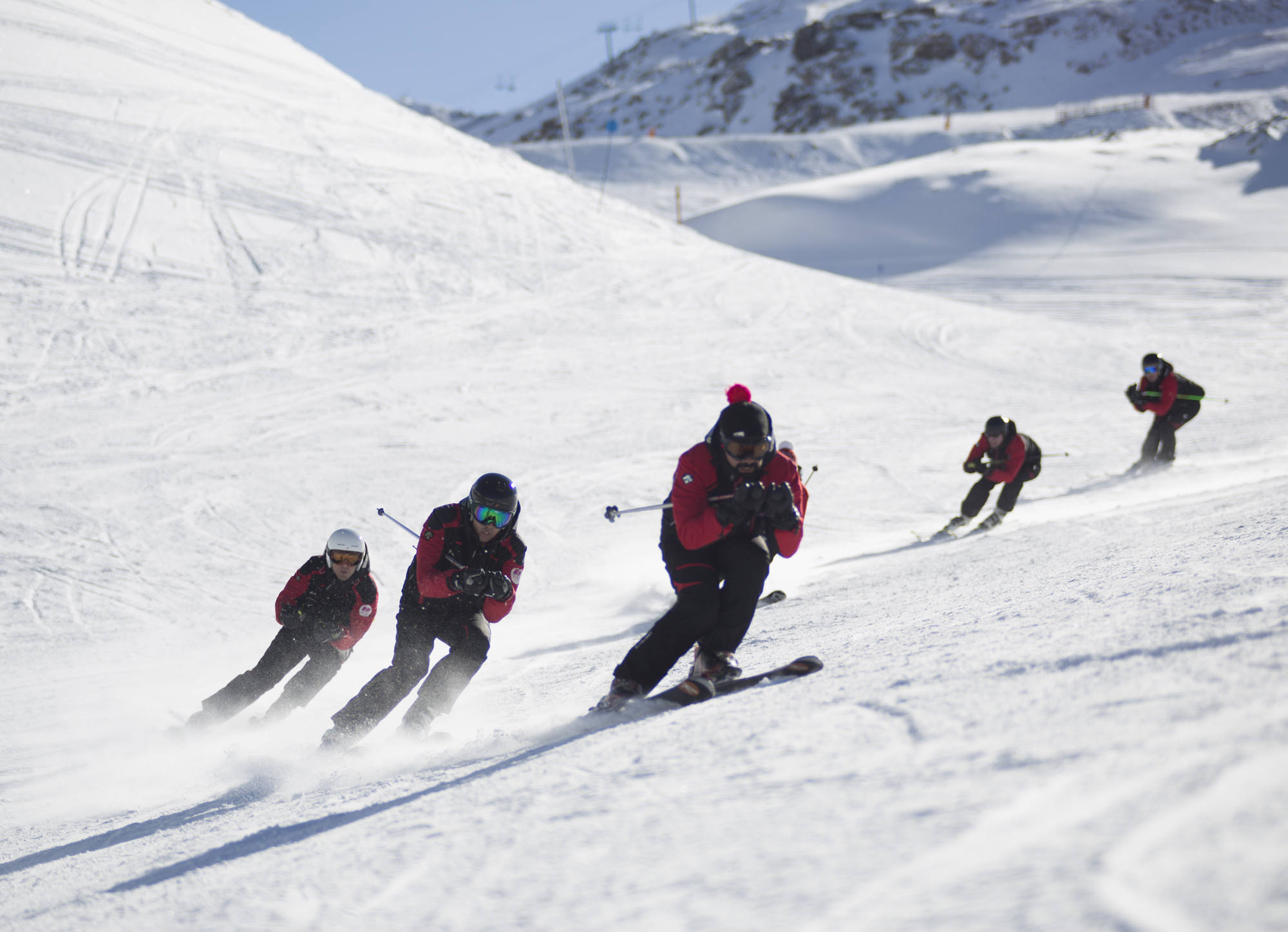 viajes esquí montaventura