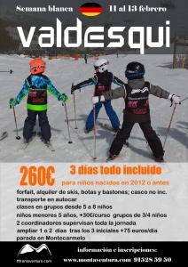 curso esqui sierra Madrid colegio Alemán
