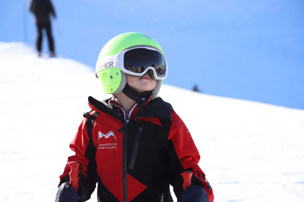 Equipo de competicion de Esqui Montaventura