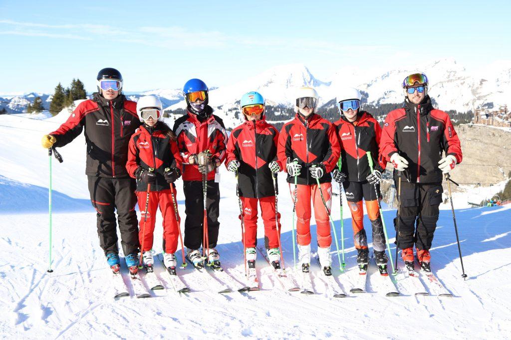 Equipo de competicion de esqui Montavetura