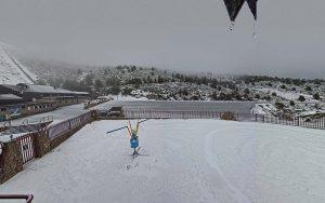Nieve en Valdesquí