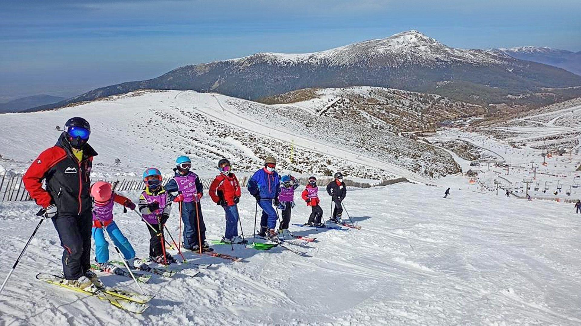 Aprende a esquiar con @Montaventura