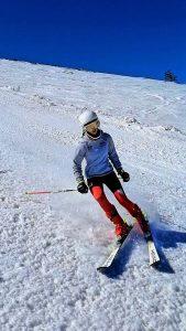 Entrenamientos de esquí con Montanentura