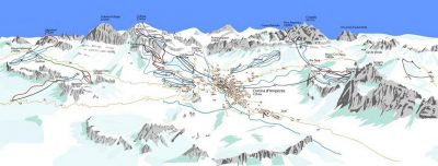 Estación italiana de Cortina d'Ampezzo.