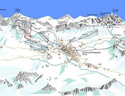 Calendario de los Mundiales de esquí alpino de Cortina d'Ampezzo.