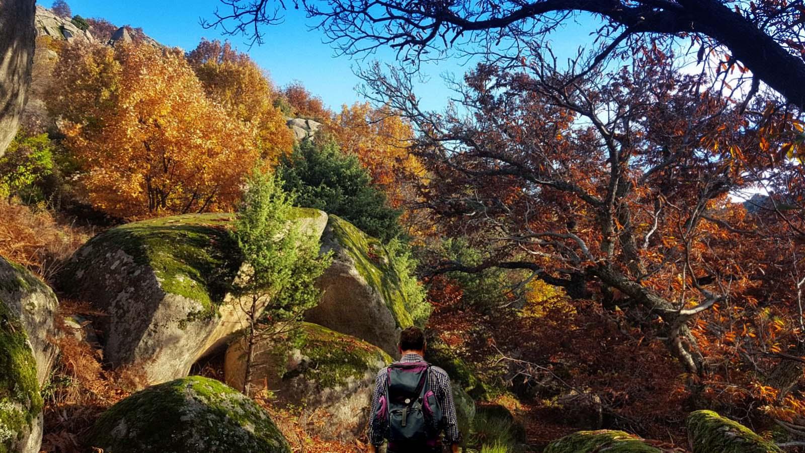 Ruta de senderismo desde la Silla de Felipe II