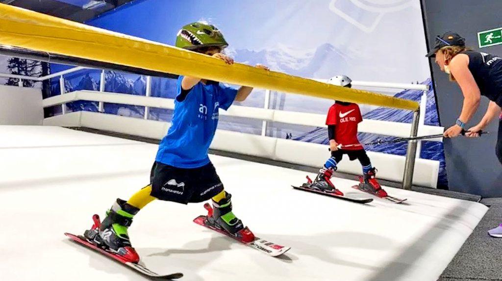 Esquí Indor para niños con Montaventura
