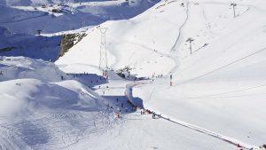 Glaciar de Les Deux Alpes (Francia)