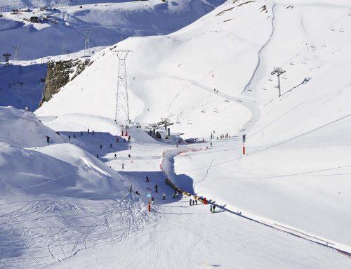 Campamento de Verano en el Glaciar de Les Deux Alpes