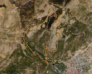 Ruta Monte Abantos desde Embalse El Romeral 2021