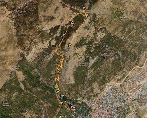 Subida a Monte Abantos desde Embalse El Romeral