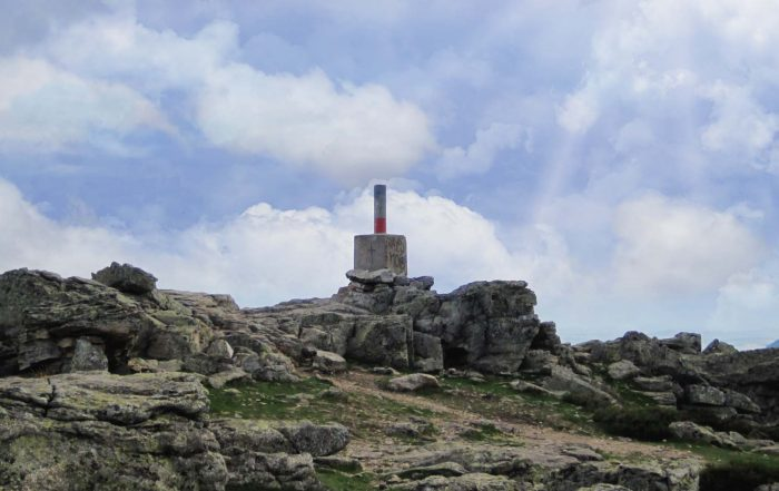 Monte Abantos ubicado en San Lorenzo de El Escorial